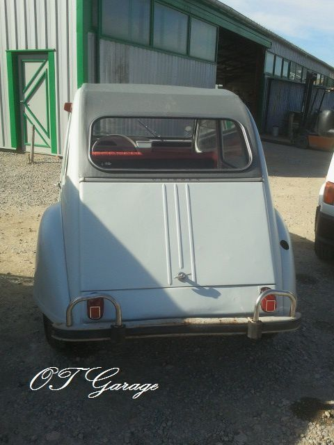 album restauration citroen 2cv azam 1966 old timer garage. Black Bedroom Furniture Sets. Home Design Ideas