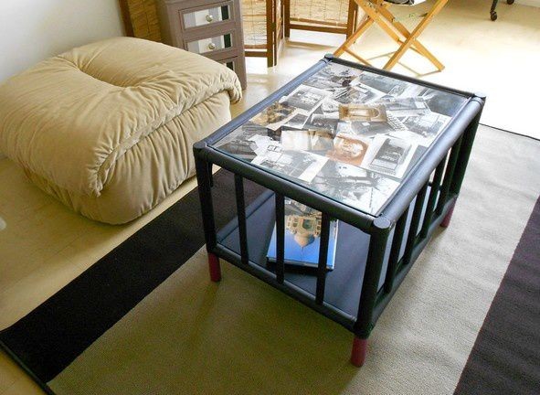 une table basse personnalisable le blog de recycl up. Black Bedroom Furniture Sets. Home Design Ideas