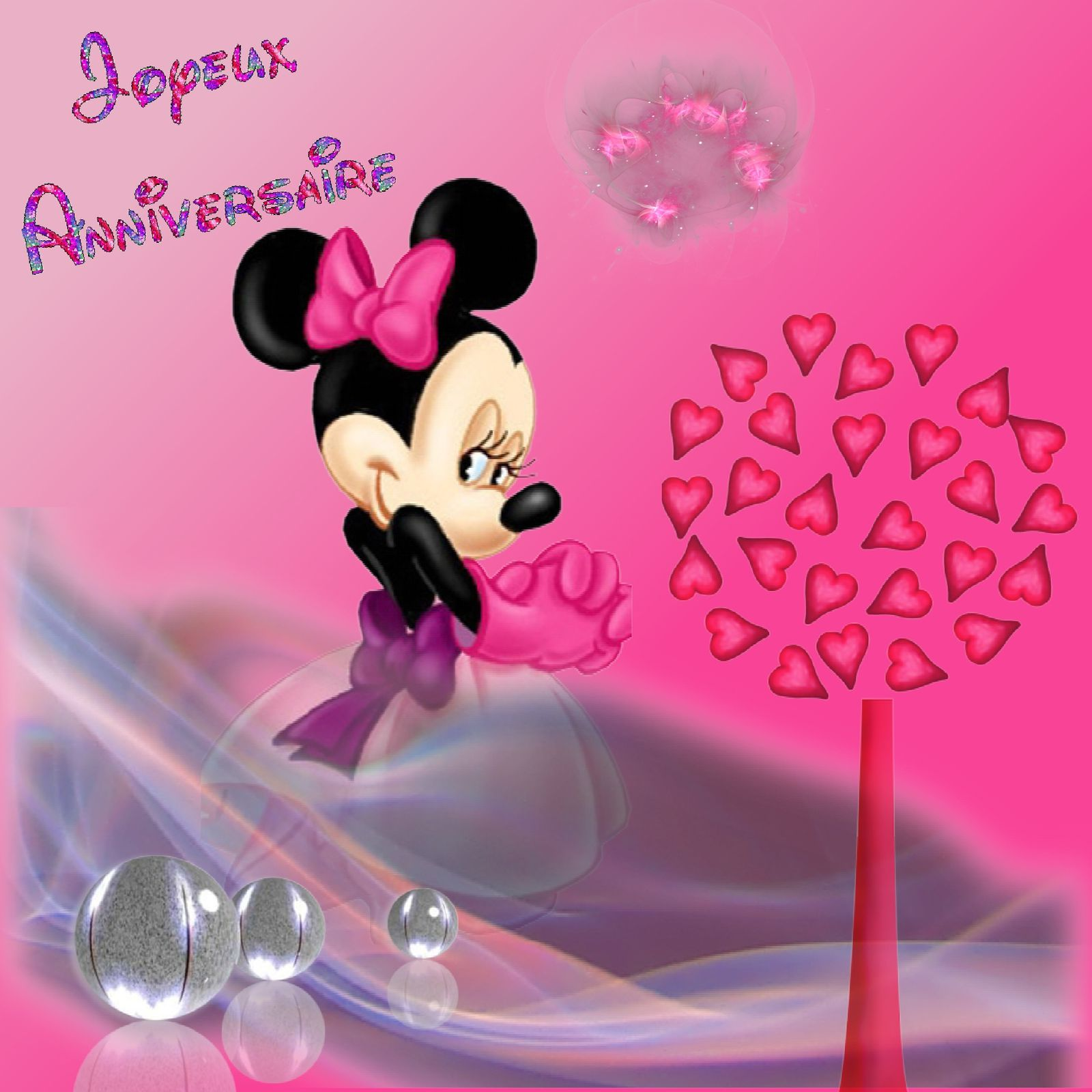 Carte anniversaire de minie party invitations ideas - Minnie a imprimer ...