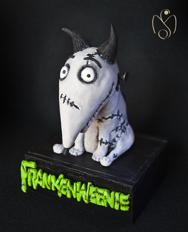 sparky dog frankenweenie cr ation en p te fimo polym re le blog de miss kawaii. Black Bedroom Furniture Sets. Home Design Ideas
