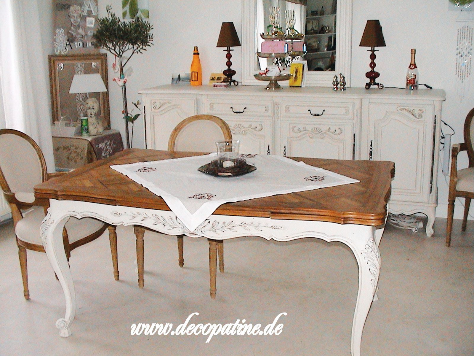 relooking deco patine workshops zum relooking von m beln im shabby chic french chic country. Black Bedroom Furniture Sets. Home Design Ideas