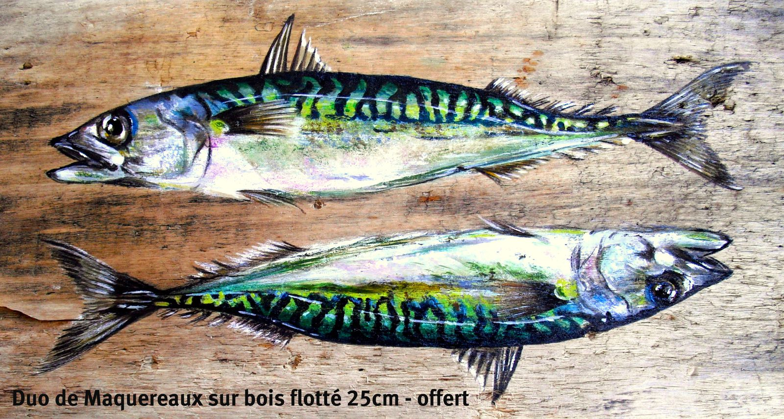 Favorit Archives peintures bois-flotte - Le blog de Ti Pierig - By Anne  AK83
