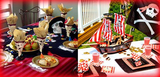 Elegant Bapteme Bebe Tables Pirates