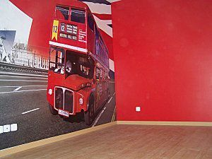 D co chambre londres - Idee deco chambre london ...