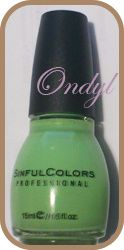 swatch-vernis-sinfulcolors-pistache 0390 (2)