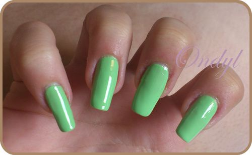 swatch-vernis-sinfulcolors-pistache 0397