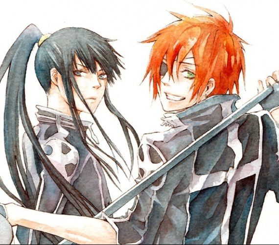 Gray man now for many years i m still not sure who i like more lavi