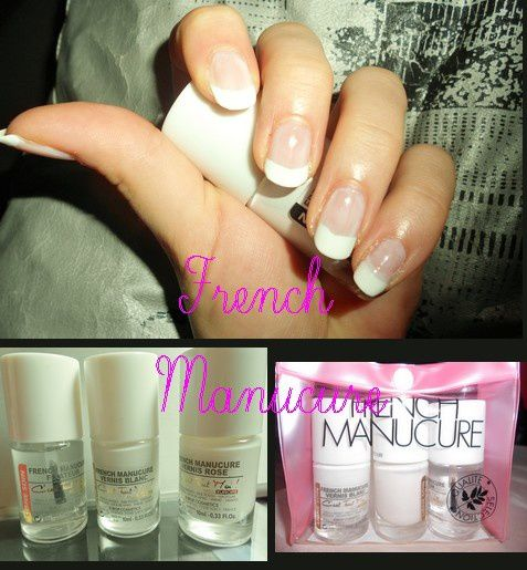 French Manucure 1 - Kit Miss Europe