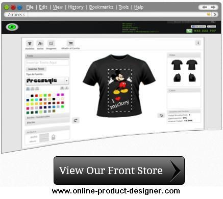 Become a fashion fad with t shirt designer application Online clothing design software
