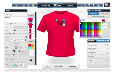 Design custom t shirt online by custom t shirt design for Custom t shirt software