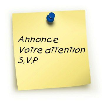 Post-it Votre Attention S.V