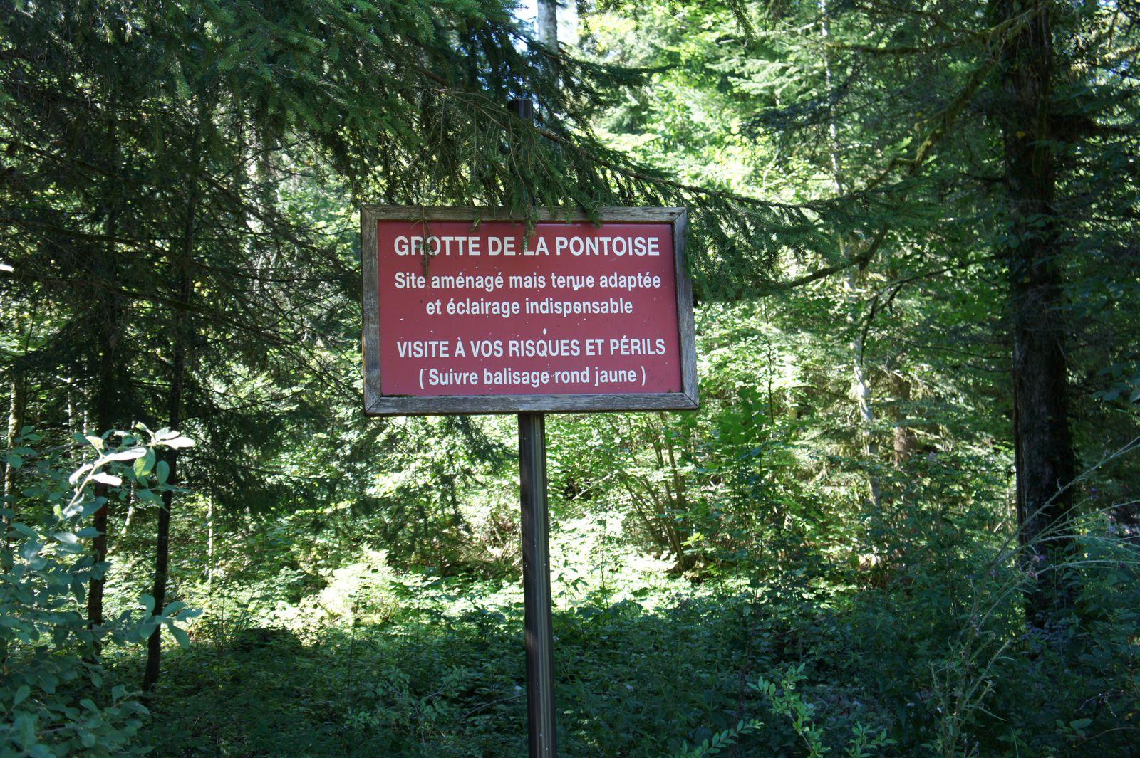 La grotte de la Pontoise
