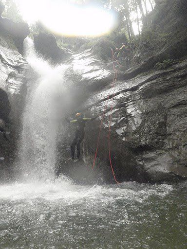 Canyoning à Saint Claude