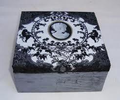 Decorar cajas de madera me chiflan las cajas de fruta - Decorar cajas de madera con papel ...