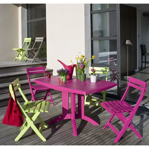 Table De Jardin Oogarden. Beautiful Salon De Jardin Bas Oogarden ...