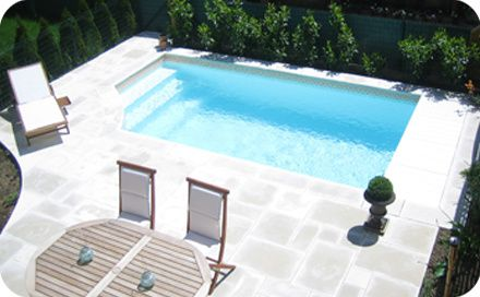 Une Piscine En Beton Decorationdezign