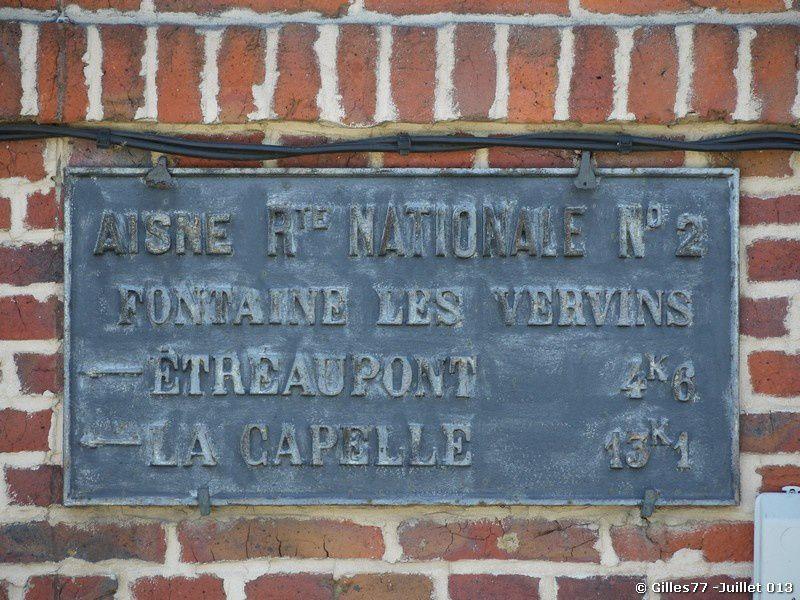 02 FONTAINE LES VERVINS RN2 n°40