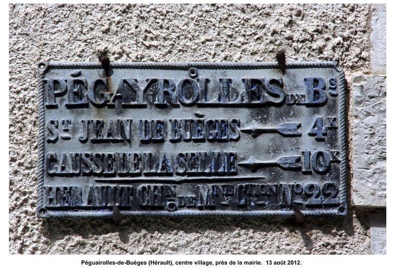34 - Péguairolles-de-Buèges