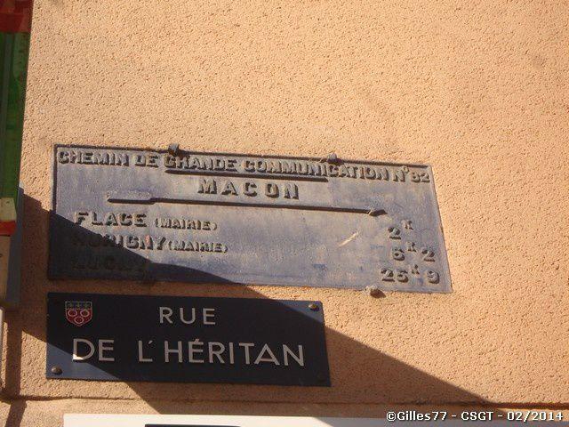 71 MACON - Rue de l'Heritan - Rue Rambuteau
