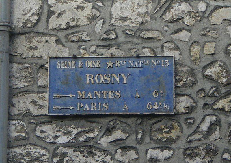 rosny sur Seine