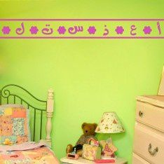 frise murale chambre enfant le blog de decocalligraphie. Black Bedroom Furniture Sets. Home Design Ideas