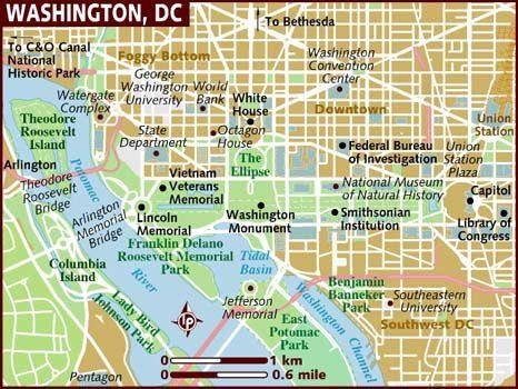 map of washington-dc