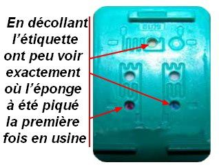 comment remplir recycler recharger refill une cartouche hp336 342 350 351 bugey boutique. Black Bedroom Furniture Sets. Home Design Ideas
