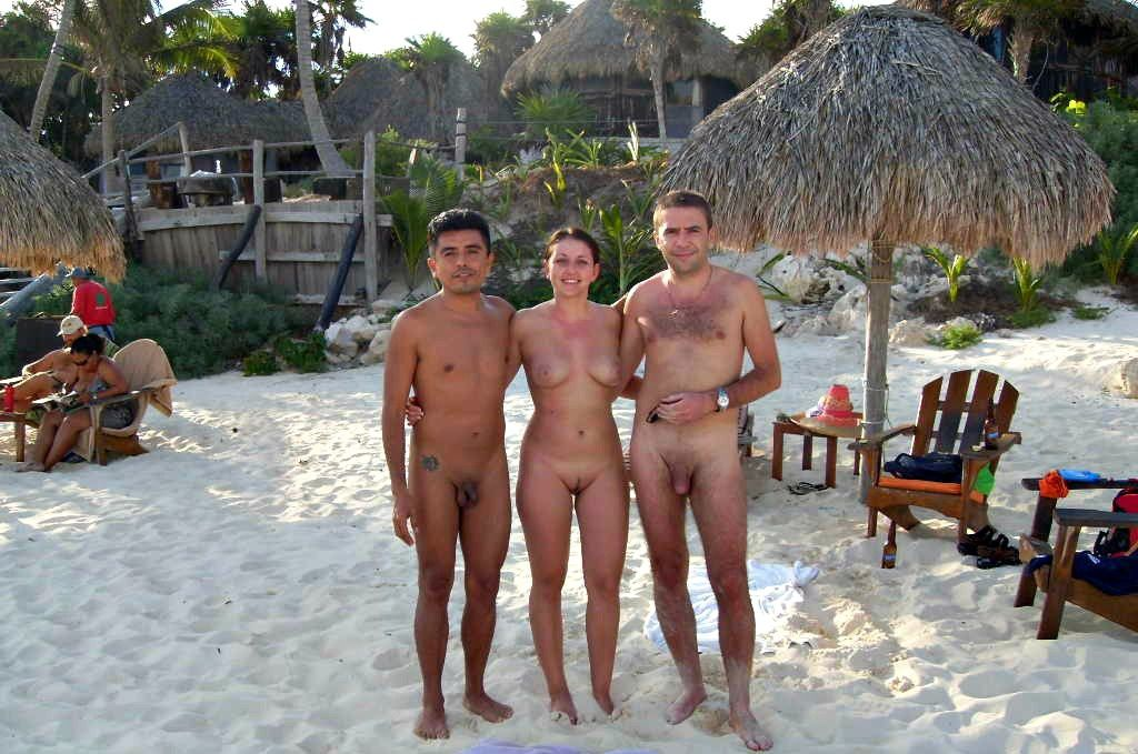 Nude beaches italian