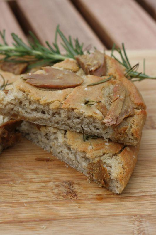 Foccaccia thon romarin sans gluten 3