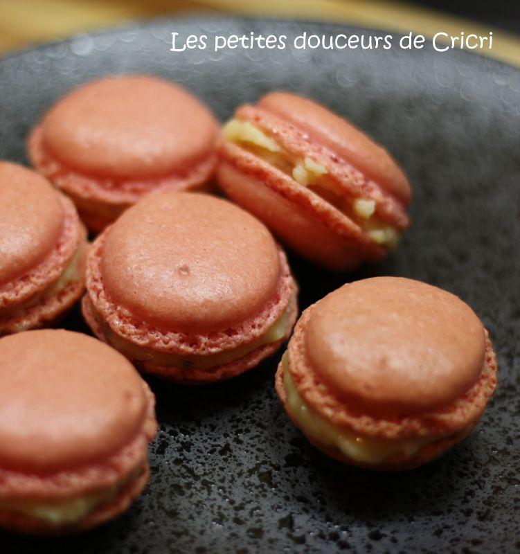 Macarons citron basilic 1