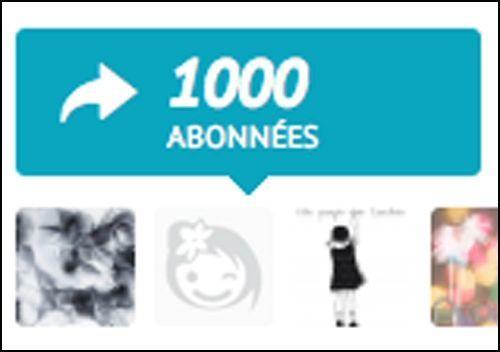 1000 abonnés HC 2