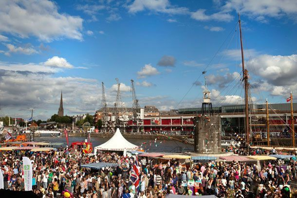 Bristol Harbour Festival port
