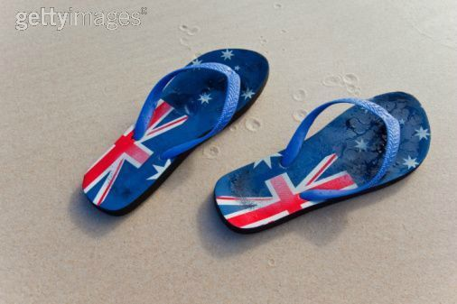 Australie tongs