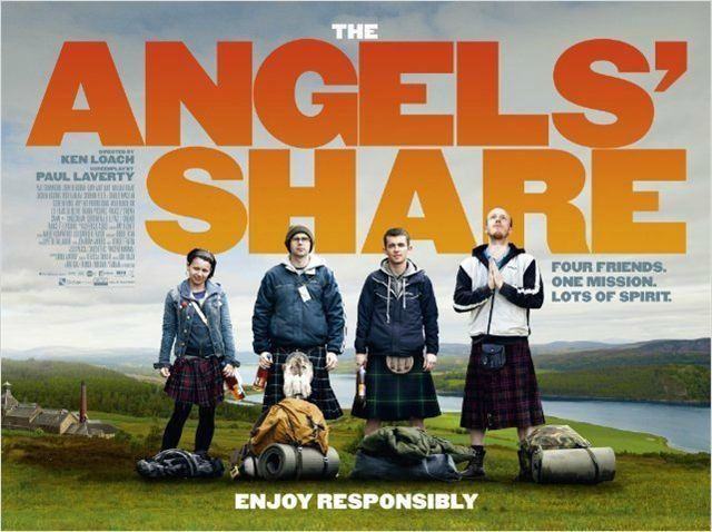 Angels' Share affiche UK