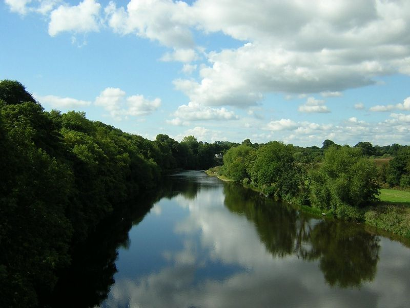 The Wye from Hay Bridge - Tim Pugh