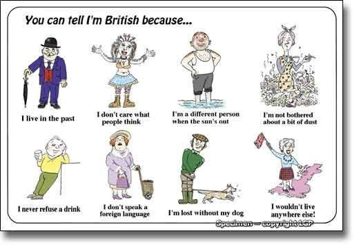 How to be british 1