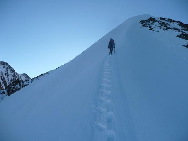 lex Blanche face nord ouest arête finale claire santoni photo guillaume ledoux apoutsiak
