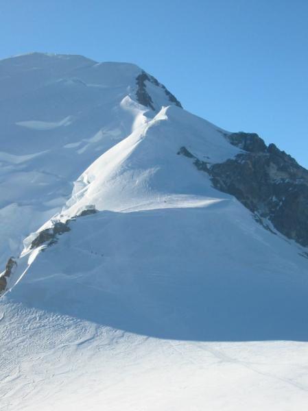 Arête des Bosses Mont Blanc - pgoto guillaume Ledoux