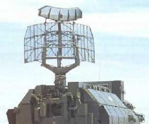 Le radar de detection et conduite du tir du système TOR M-1.