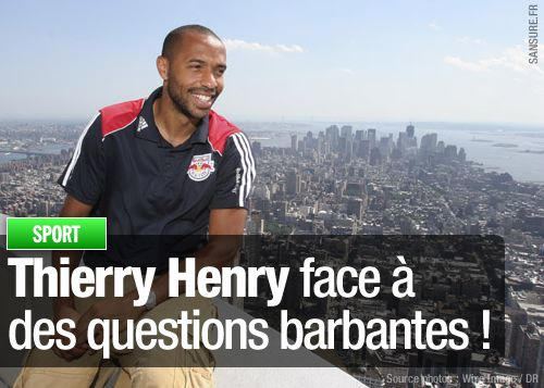thierry henry questions journaliste
