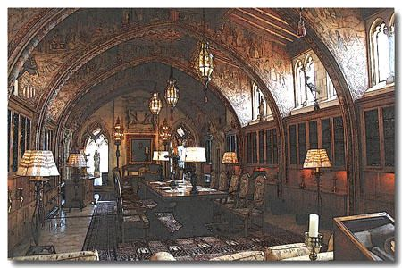 Hearst Castle - Bibliotheque