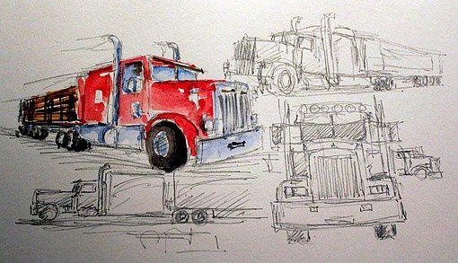 Camions d'amérique