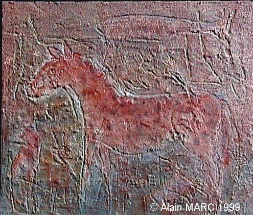 L'hipparion rouge