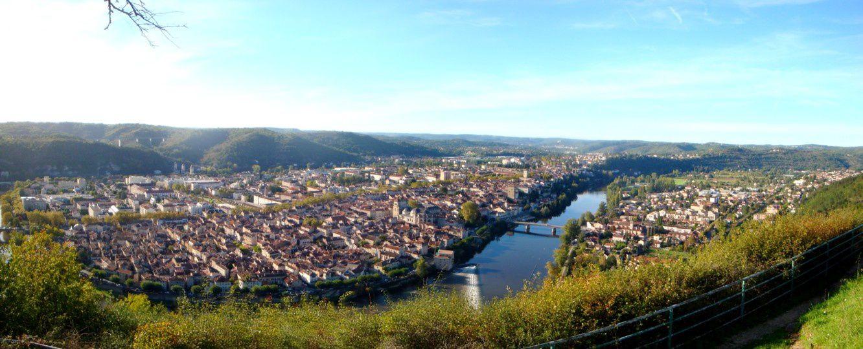 Cahors - Le mont St-Cyr