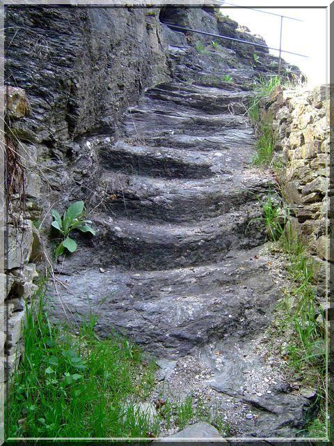 Un escalier plus que millénaire !