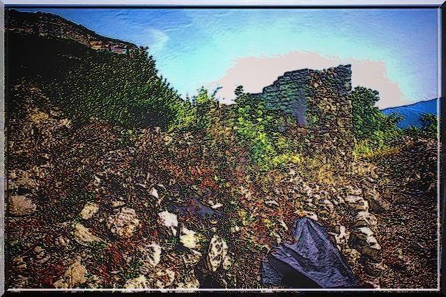 Un donjon en ruine et pourtant fascinant