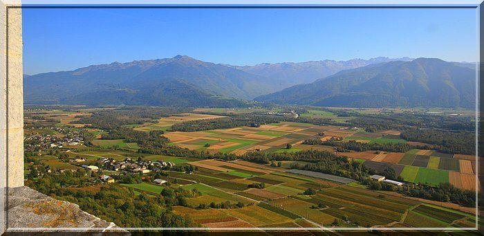 Un emplacement idéal pour contrôler la vallée de l'Isère