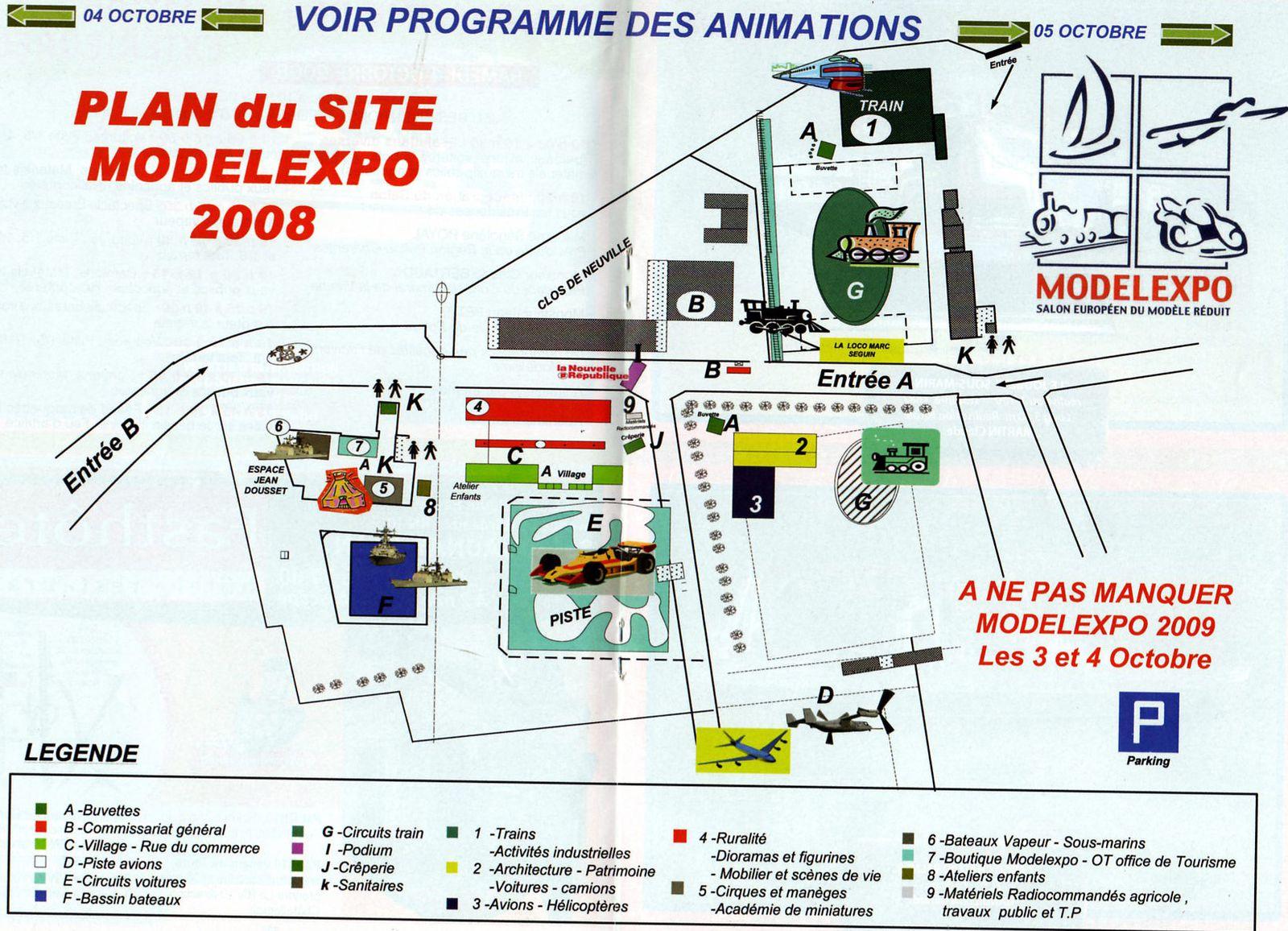 Salon du Modelisme et de la Maquette 2008 et 2009 à Neuville de Poitou