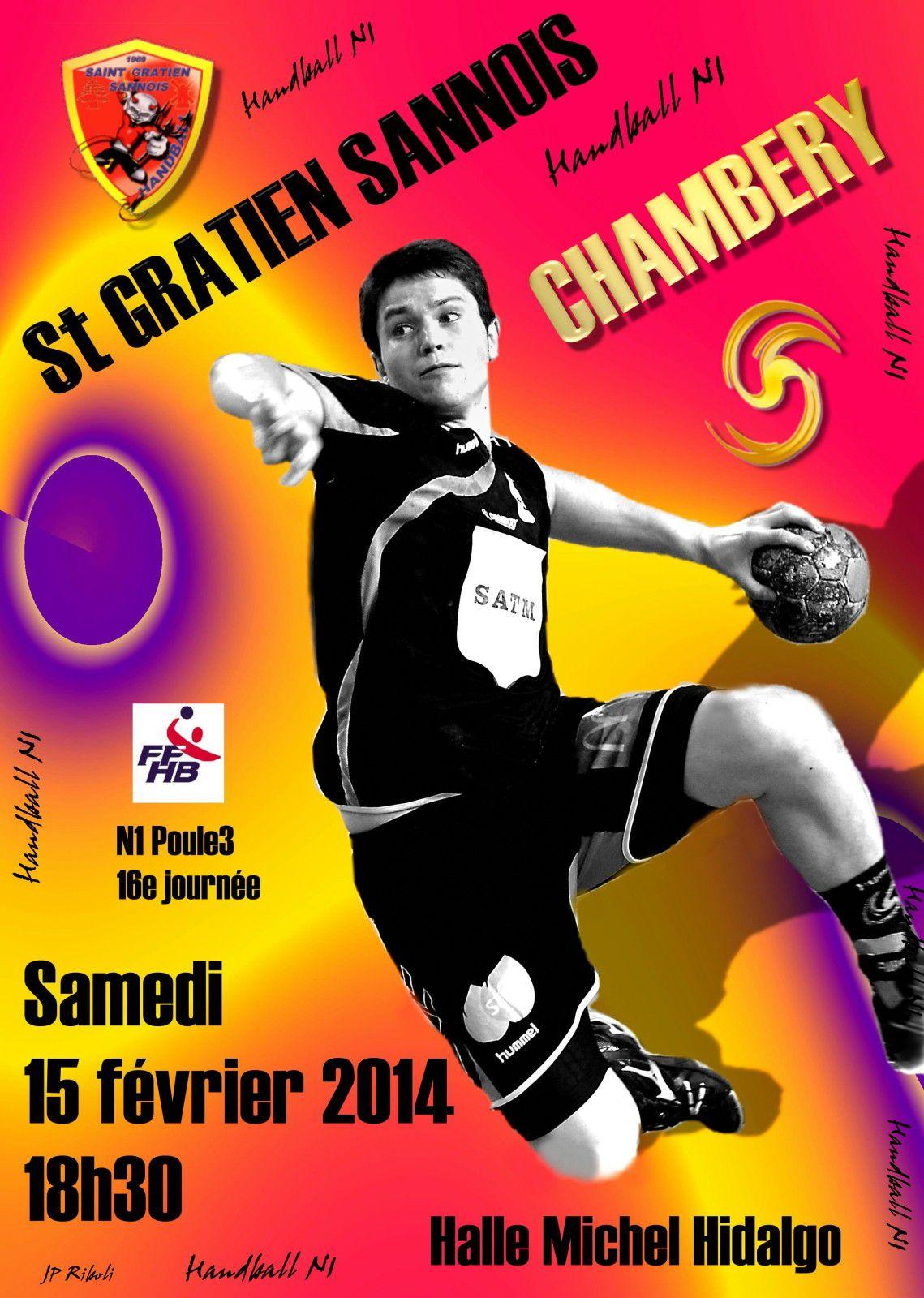 Affiche N1 St GRATIEN SANNOIS CHAMBERY 15 02 2014 N°3