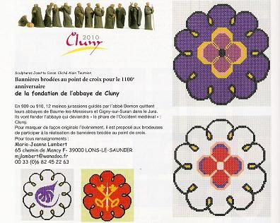 Banniere Cluny red